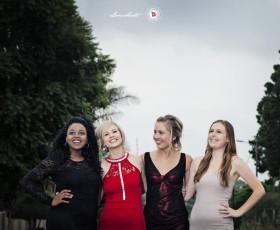 Danné, Anri, Beth & Alisha's Valentine's Ball